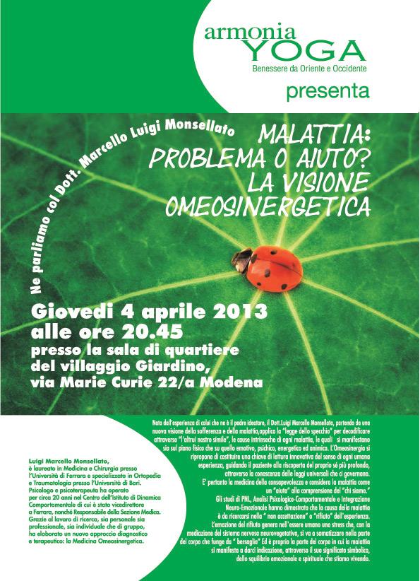 Yoga Modena Armonia - Medicina Omeosinergetica